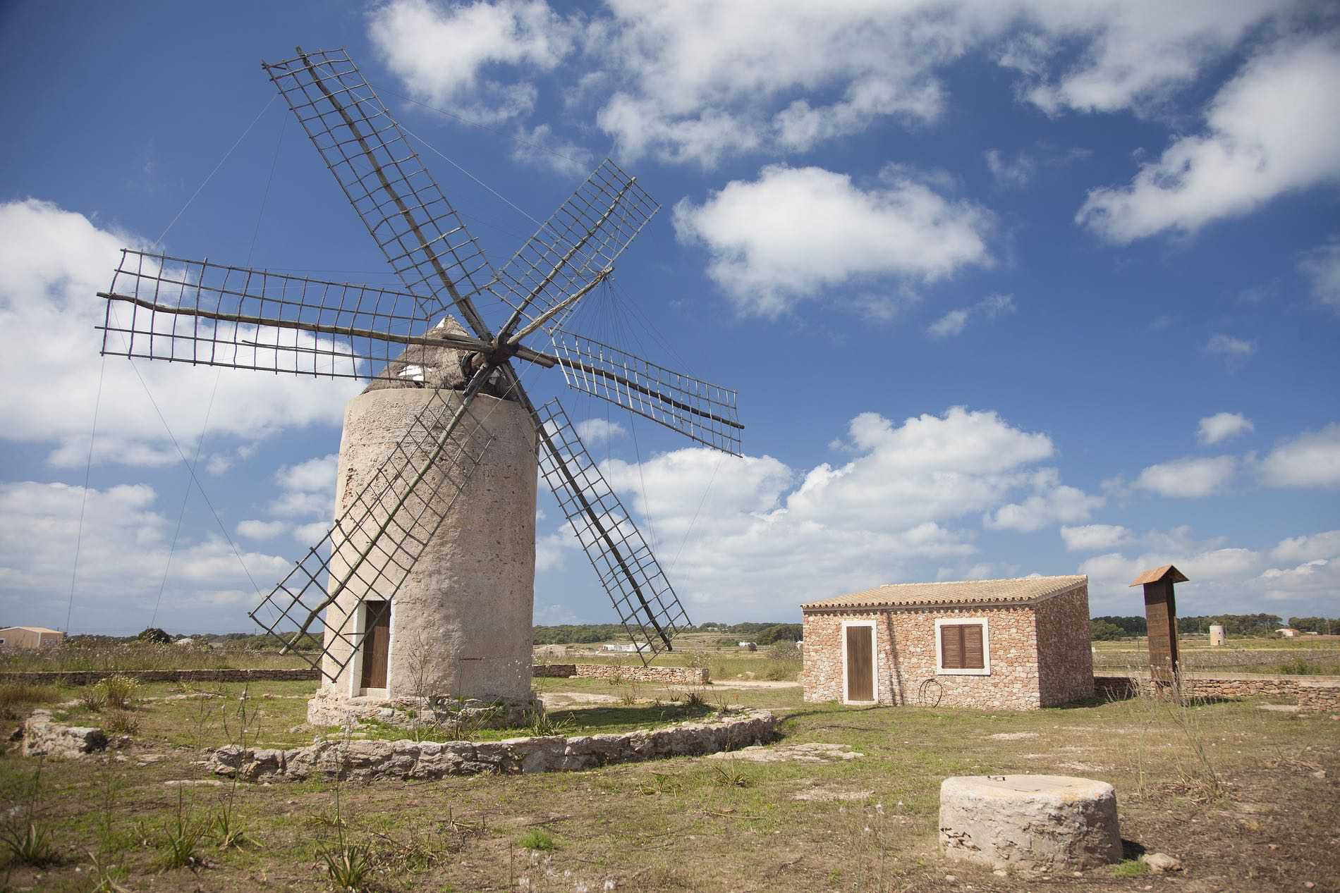 The windmills of Formentera